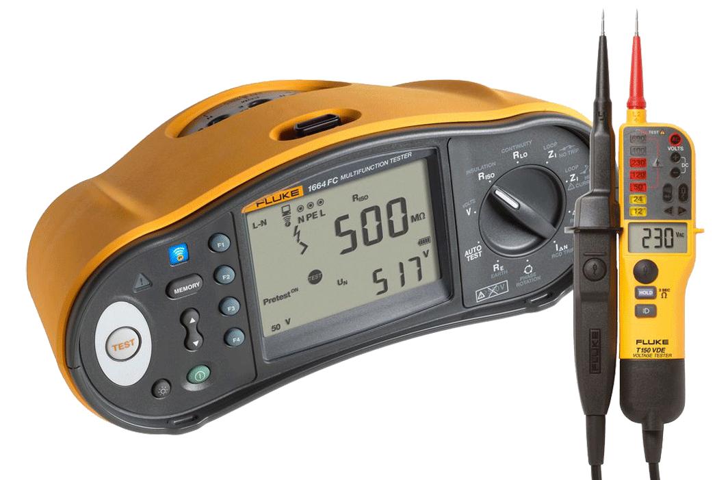 Elbro - Set Ampèremètre avec étui - forme fourche - n°1 - Detector 3000 + CA3000 - Bugnard.ch