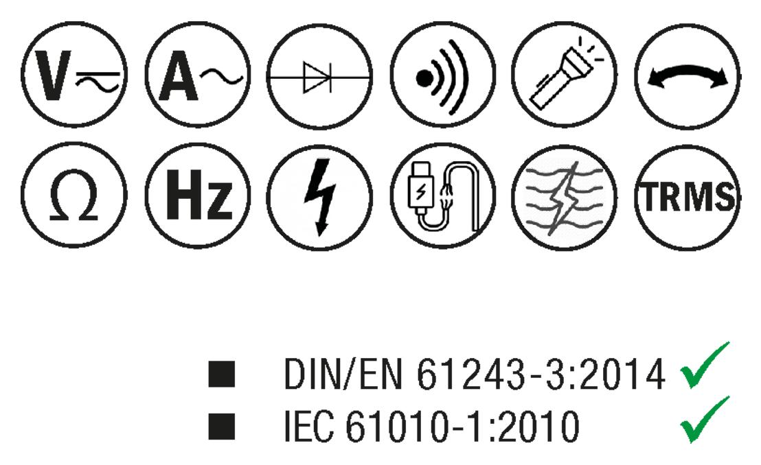 Elbro - Set Ampèremètre avec étui - forme fourche - n°2 - Detector 3000 + CA3000 - Bugnard.ch